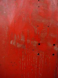 peinture rouge métal