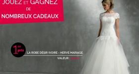 Jouez et gagnez votre robe de mariée !