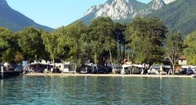 Camping au bord du Lac D'annecy