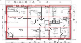 Plan maison Feng Shui
